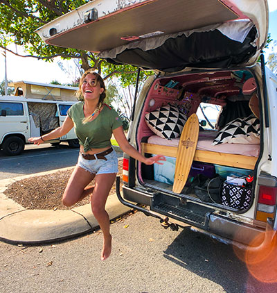 Van life with a solo female who is working and travelling Australia - Marie, Nomads Around Australia